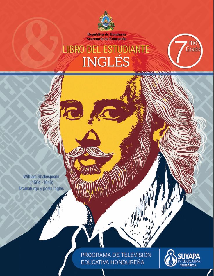 Libro de Texto y Guía del Docente de Inglés de 7° Grado